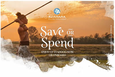 SAVE OR SPEND AKCIÓ AZ AZAMARA CLUB CRUISESNÉL